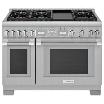 """Thermador 48"""" Pro Grand Dual Fuel Range with 6 Burners in Stainless Steel, , large"""