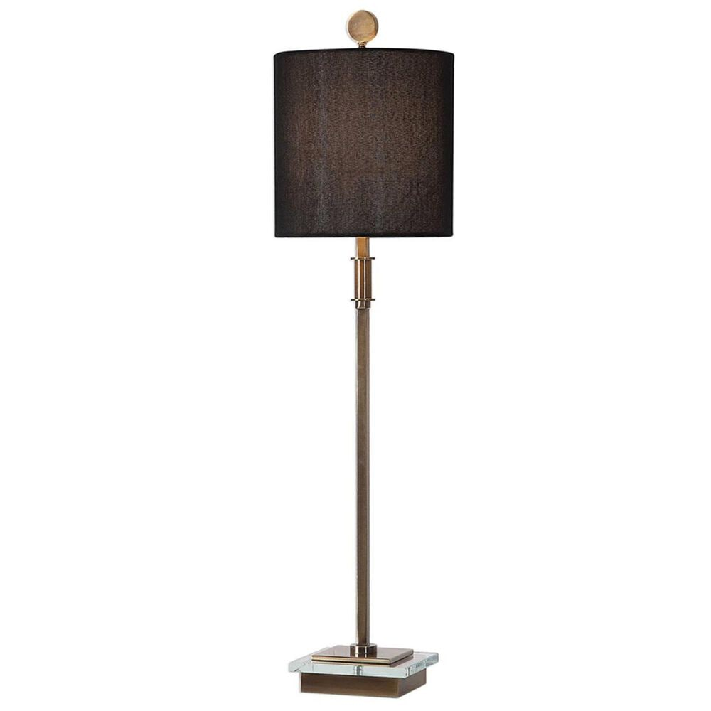 Uttermost Volante Table Lamp in Antique Brass, , large