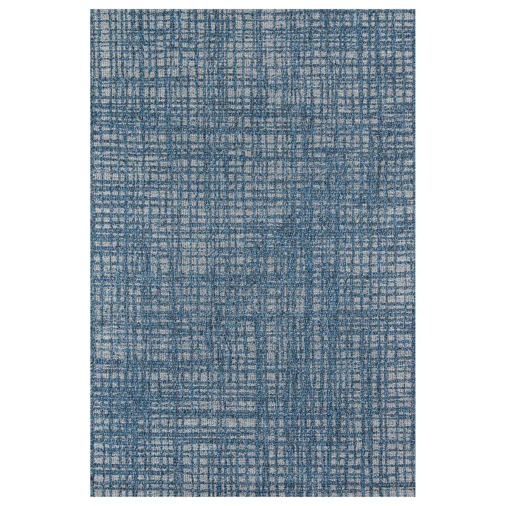 "Momeni Como 7'10"" x 10'10"" Blue Indoor/Outdoor Area Rug, , large"