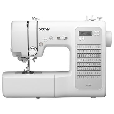 Brother 100-Stitch Computerized Sewing Machine in White, , large