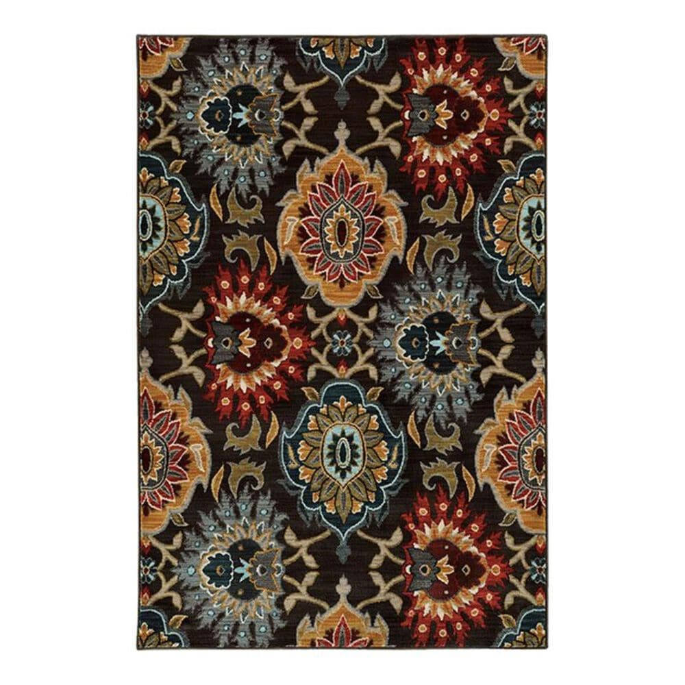 "Oriental Weavers Sedona 6369D 3'10"" x 5'5"" Charcoal Area Rug, , large"