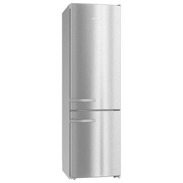 """Miele 12.75 Cu. Ft. 24"""" Counter Depth Bottom Freezer Refrigerator in Stainless Steel, , large"""