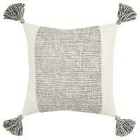 Filled Pillow in Light Gray
