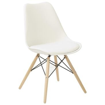 OSP Home Allen Guest Chair in White, , large