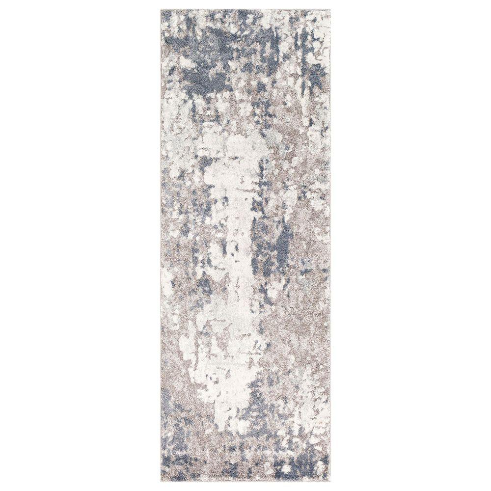 "Surya Venice VNE-2304 2'9"" x 7'3"" Denim, Blue and Ivory Runner, , large"