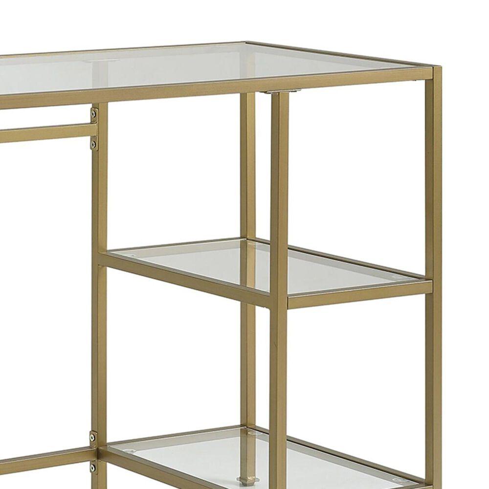 Crosley Furniture Aimee Desk in Gold, , large