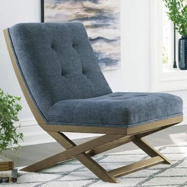 37B Sidewinder Accent Chair in Blue, , large