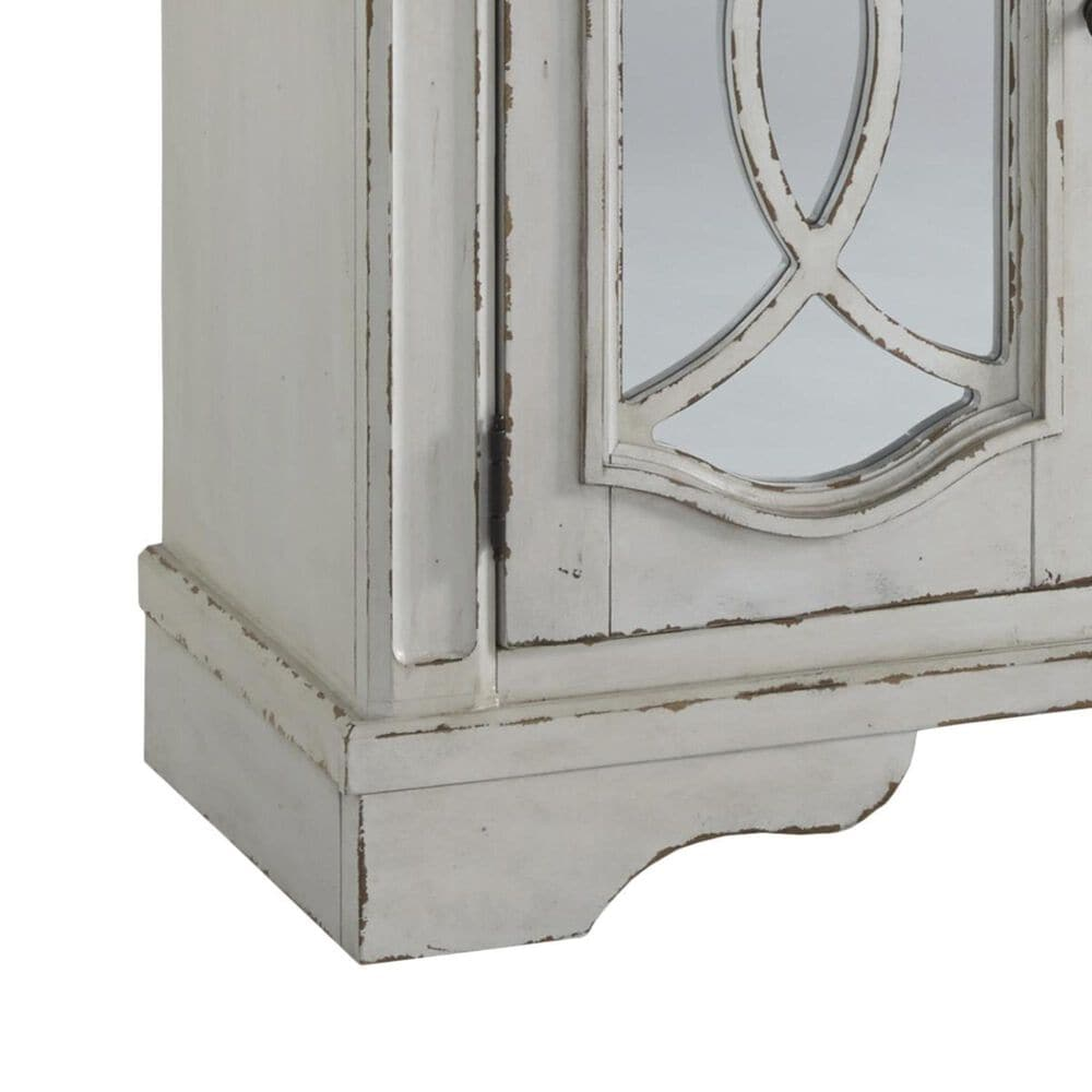 Signature Design by Ashley Realyn Dining Room Server in Chipped White, , large