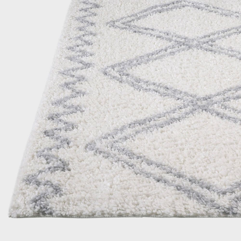 """Central Oriental Prince Light Zakie 8655.253 2'2"""" x 3' Grey and Cream Area Rug, , large"""