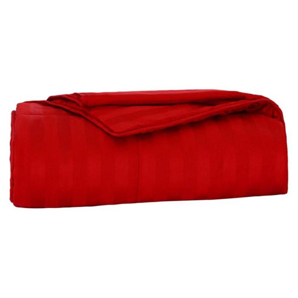 Epoch Hometex Cotton Loft Twin Blanket in Scarlet, , large
