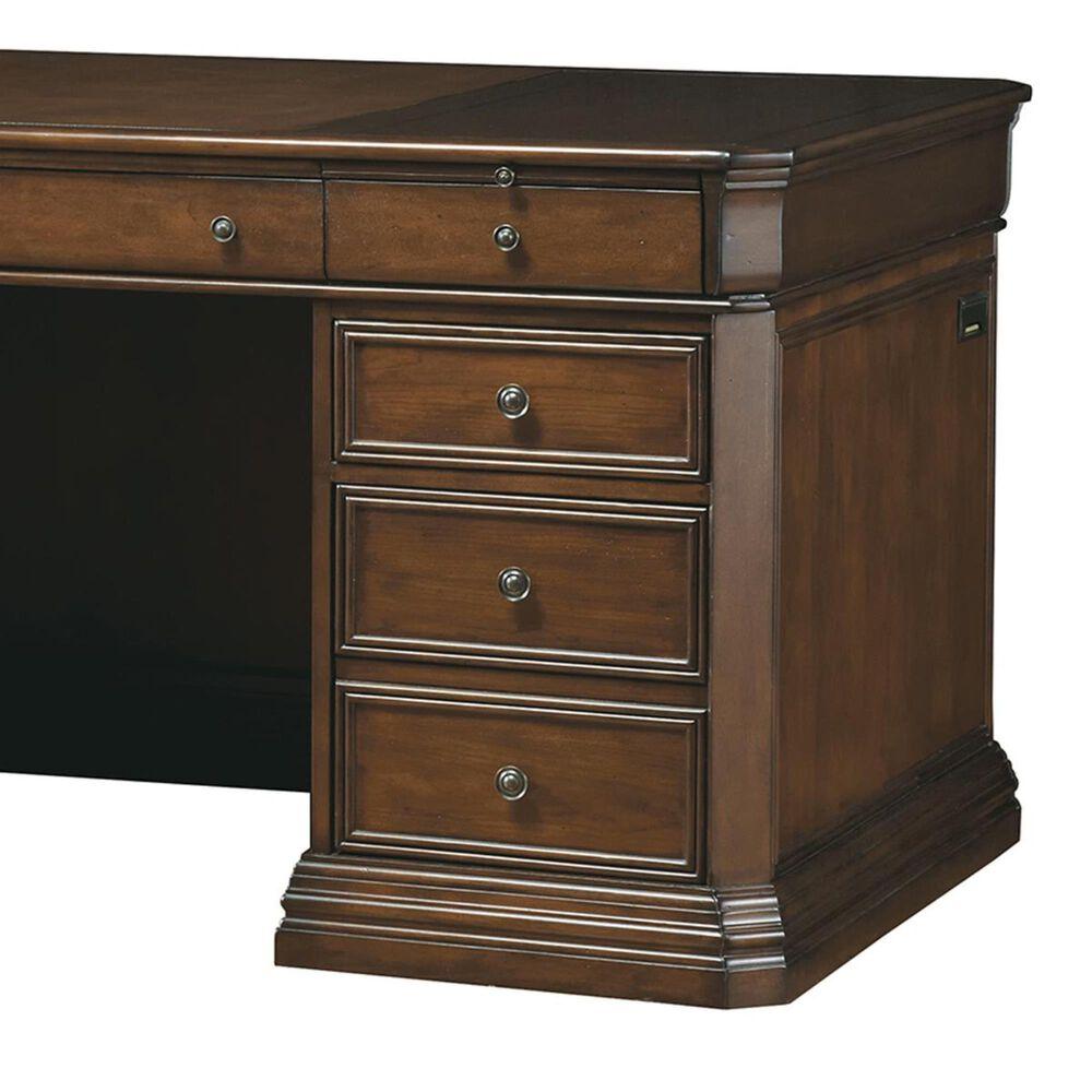"Hooker Furniture Cherry Creek 66"" Executive Desk in Medium Brown, , large"