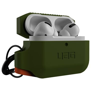 Silicone Case for Apple Airpods Pro in Olive Drab, , large