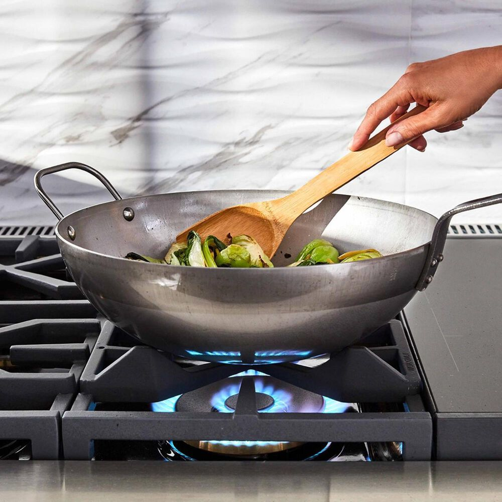 """Signature Kitchen Suite 36"""" Dual-Fuel Pro Range with Griddle in Stainless Steel, , large"""