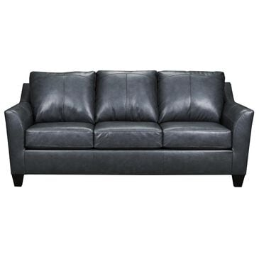Lane Dundee Leather Sofa in Soft Touch Fog, , large