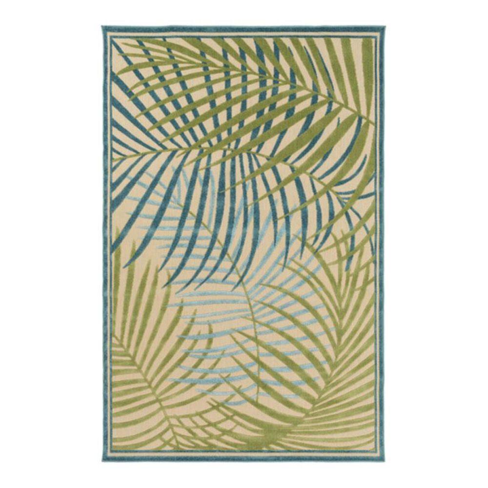 """Surya Portera PRT-1064 3'9"""" x 5'8"""" Teal Olive Mint Area Rug, , large"""