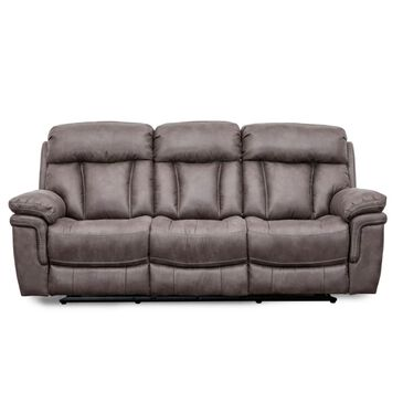 Oxford Furniture Reclining Sofa in Gunmetal Gray, , large