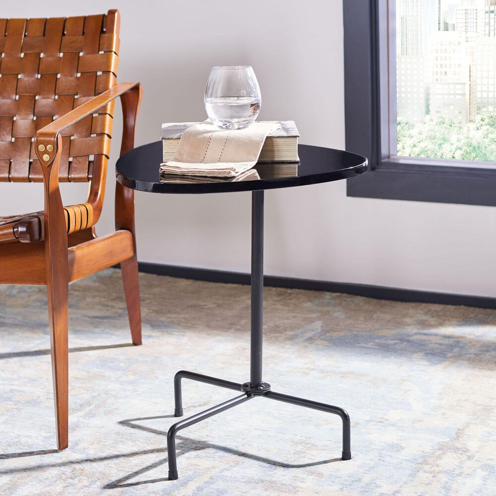 Safavieh Berlin Side Table in Black, , large