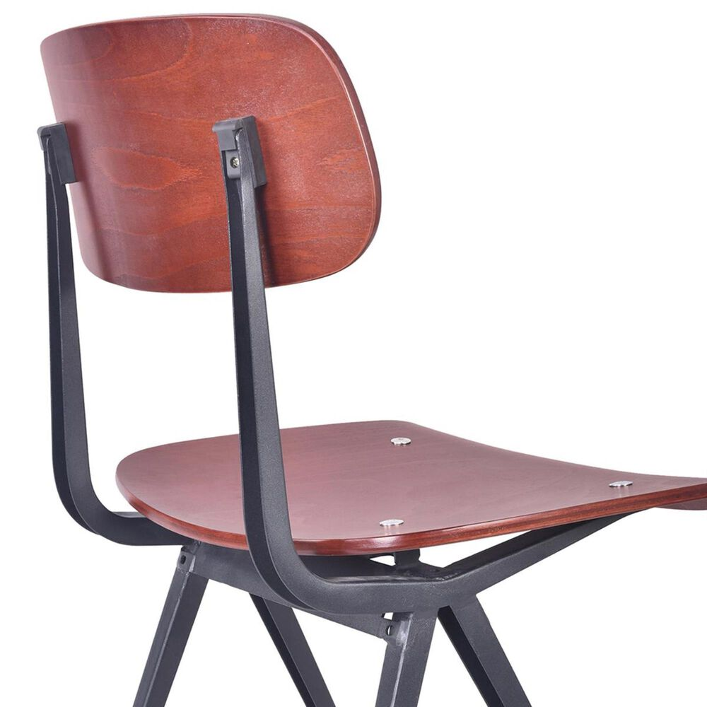 Blue River Levi Dining Chair in Black and Wood (Set of 2), , large