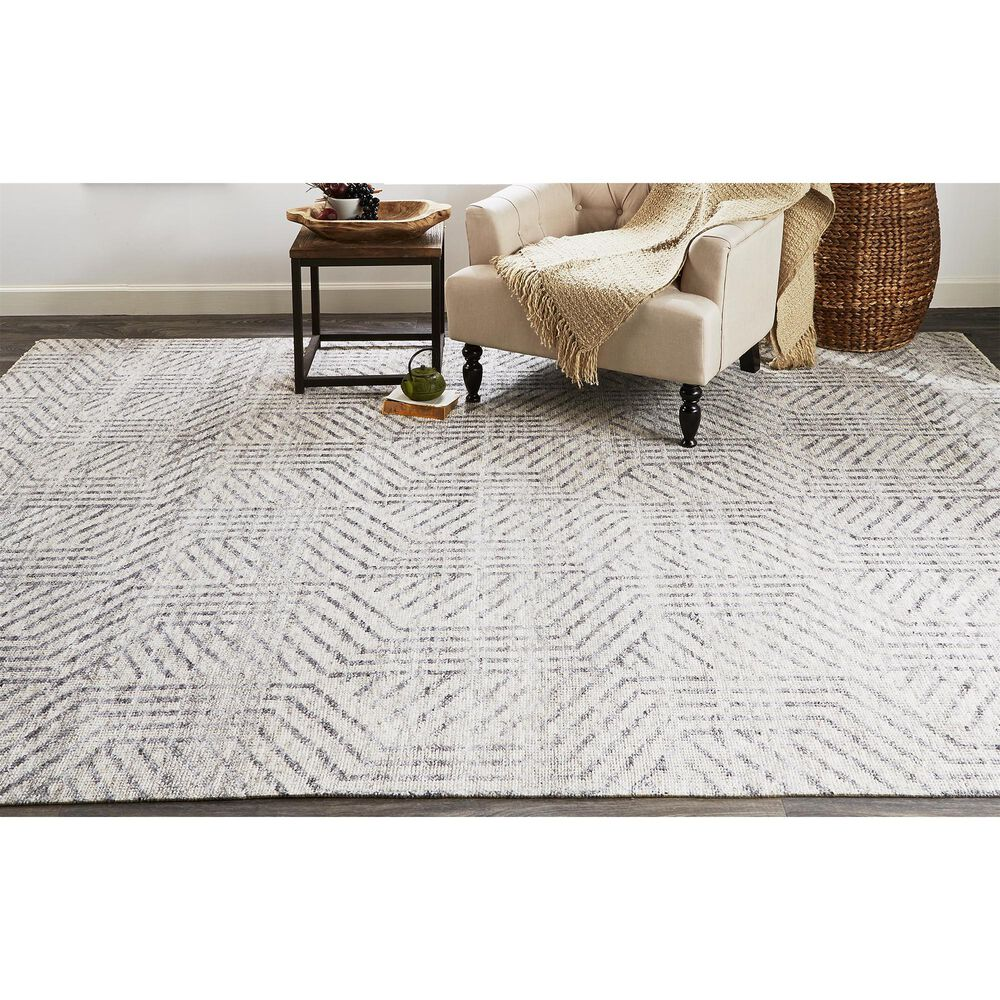 Feizy Rugs Vivien 6556F 10' x 14' Beige Area Rug, , large