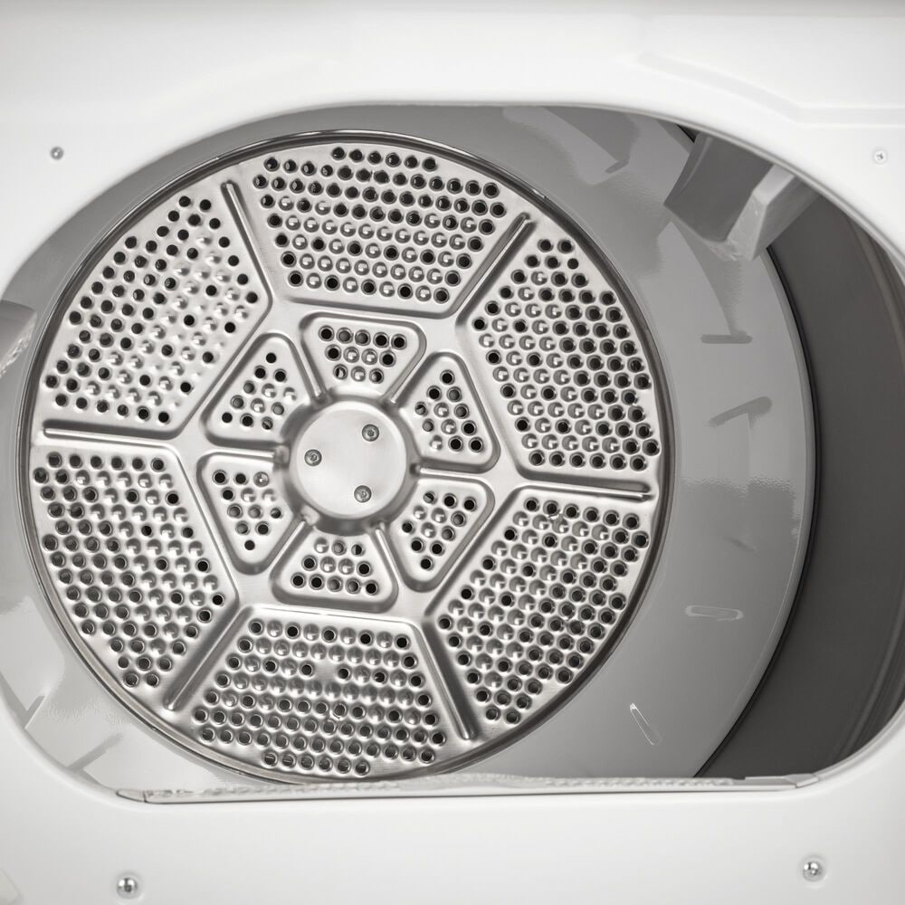 GE Appliances 4.6 Cu. Ft. Top Load Washer and 7.4 Cu. Ft. Electric Dryer Laundry Pair in White, , large