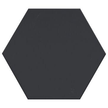 "Emser Rhythm Black Hexagon 11"" x 13"" Pattern Porcelain Tile, , large"