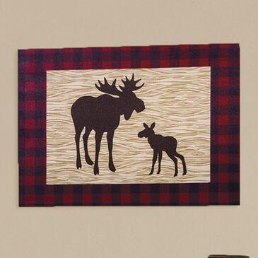 Trend Lab LLC Northwoods Moose Canvas Wall Art, , large