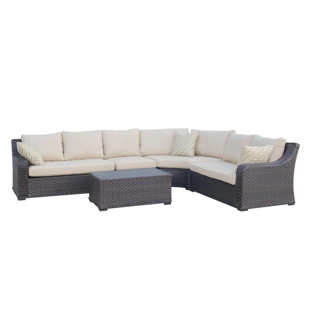 Amber Shores Tortola 4-Piece Sectional, , large