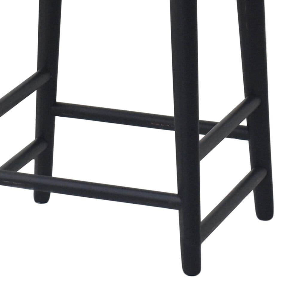 Steve Silver Hilton Counter Stool in Black, , large