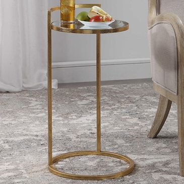 Uttermost Cailin Accent Table in Gold, , large