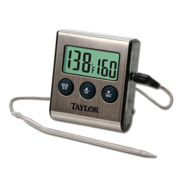 Metrokane Digital Thermometer With Probe, , large