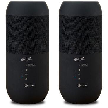 iLive Indoor/Outdoor Dual Bluetooth Speakers, , large