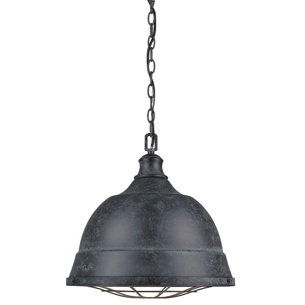 Golden Lighting Bartlett 2-Light Pendant in Black Patina, , large