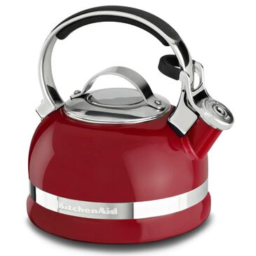 KitchenAid 1.9 L Kettle with C Handle and Trim Band in Empire Red, , large