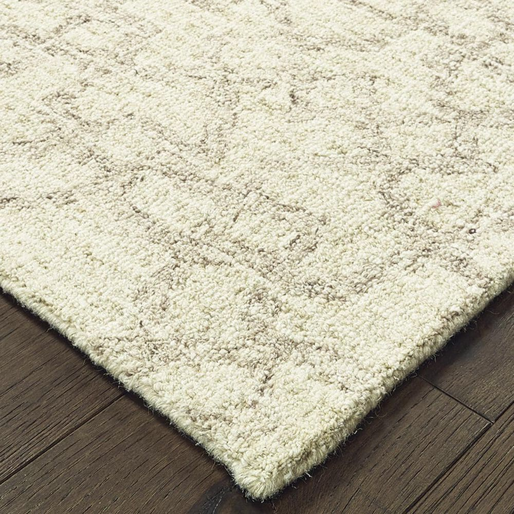 "Oriental Weavers Tallavera 55608 2'6"" x 8' Tan and Ivory Runner, , large"