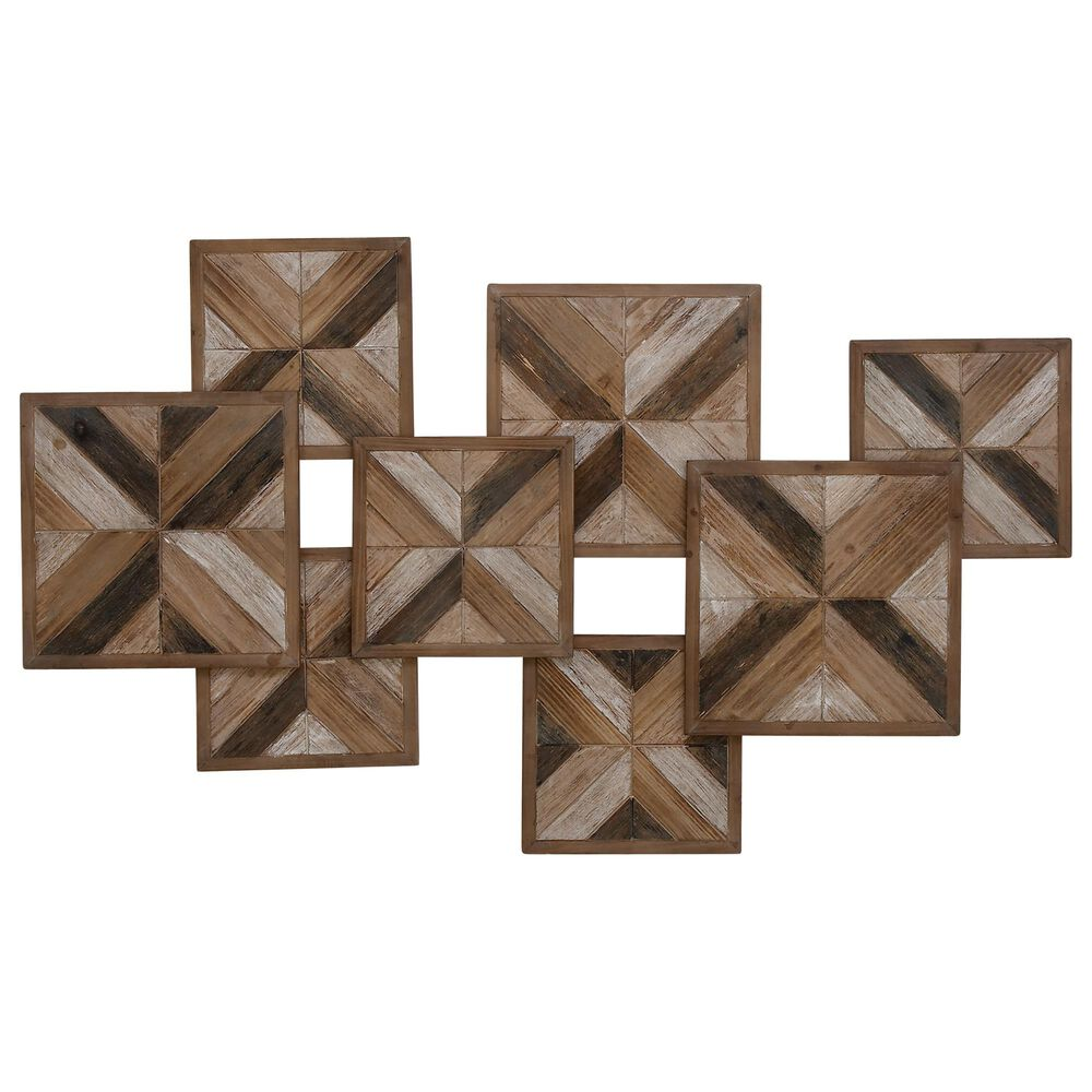 """Maple and Jade 27"""" x 45"""" Wall Decor in Brown, , large"""