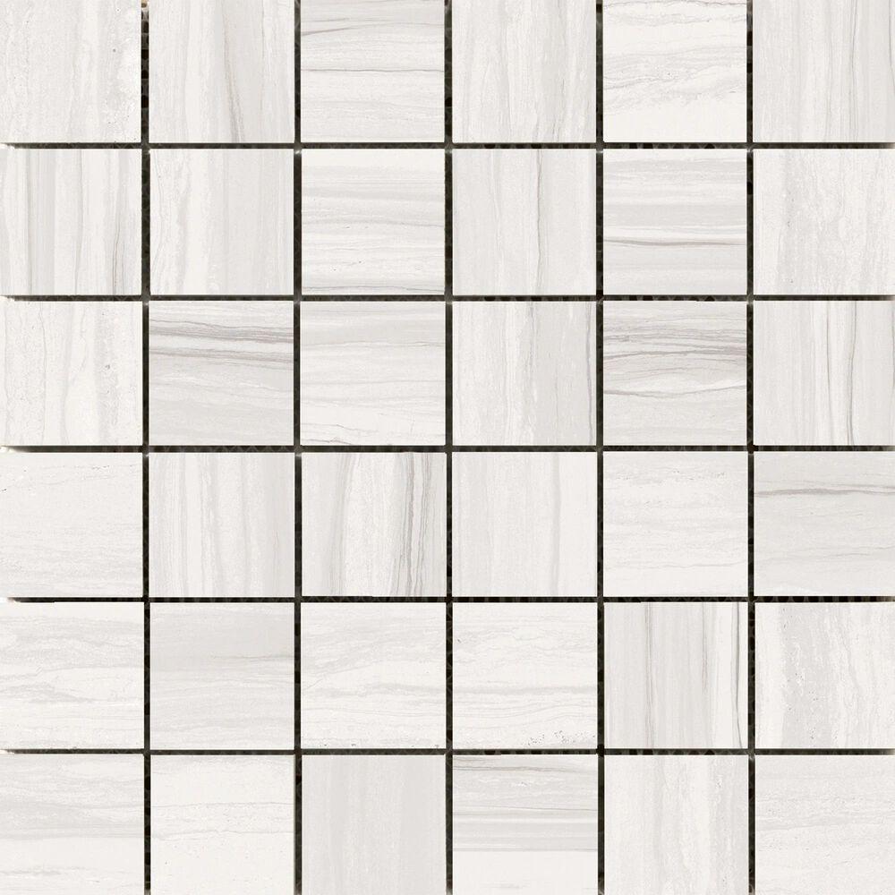"Emser Ciudad Ash 2"" x 2"" Square on 12"" x 12"" Ceramic Mosaic Sheet, , large"