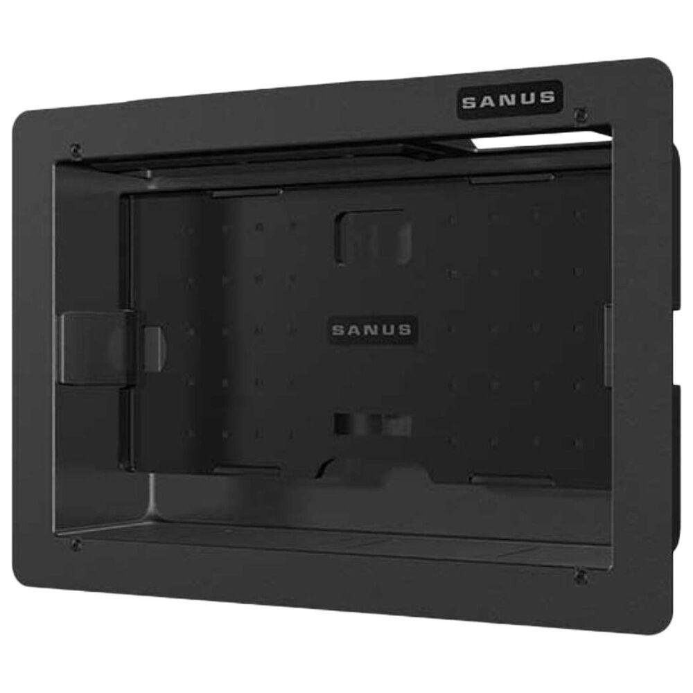 Sanus Large Recessed Component Box in Black, , large