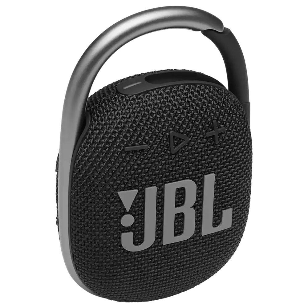 JBL Clip 4 Portable Bluetooth Speaker in Black, , large