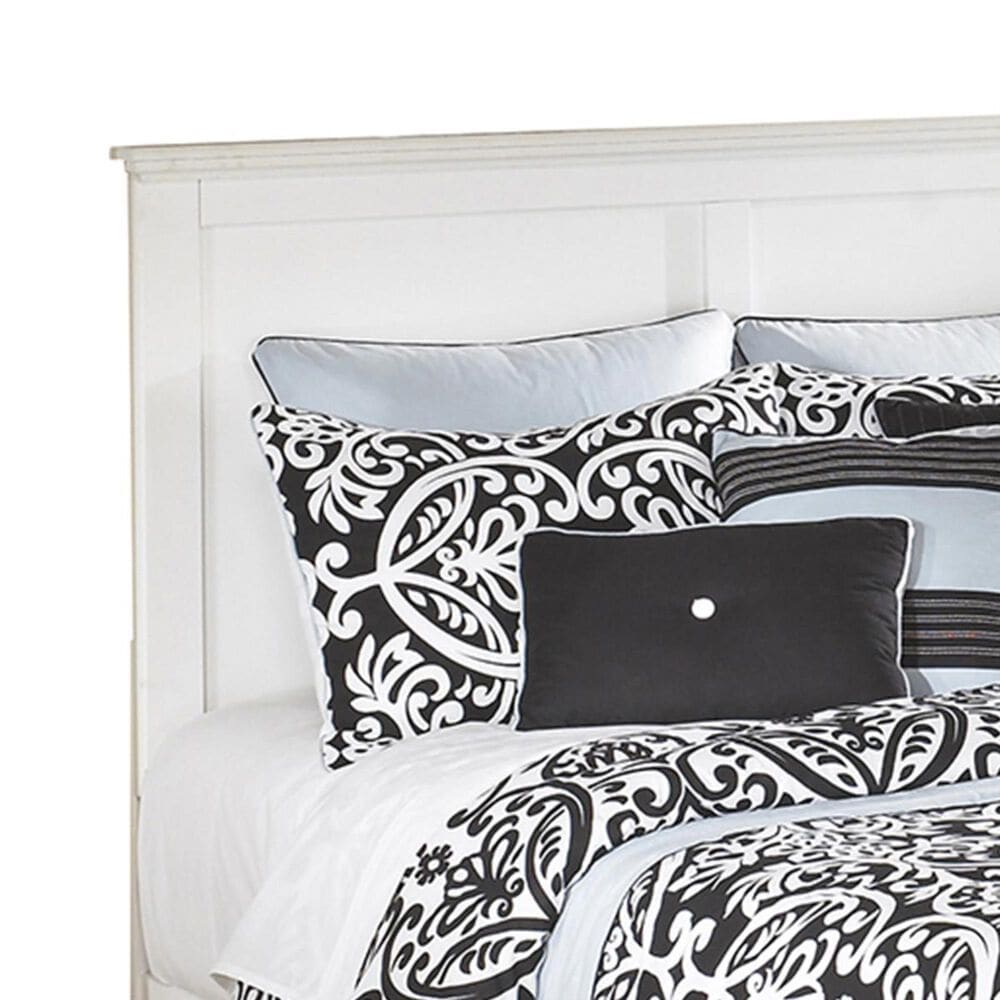 Signature Design by Ashley Bostwick Shoals Queen Headboard in White, , large
