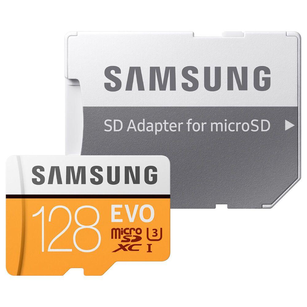 Samsung 128GB EVO microSDXC Memory CardB, , large