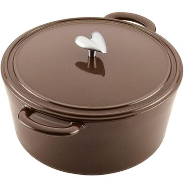 Ayesha Curry Cookware 6 Quart Covered Dutch Oven in Brown Sugar , , large