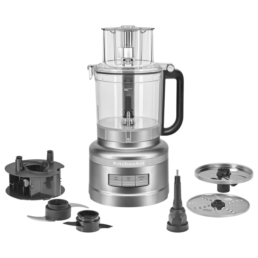 KitchenAid 13-Cup Food Processor in Contour Silver, , large