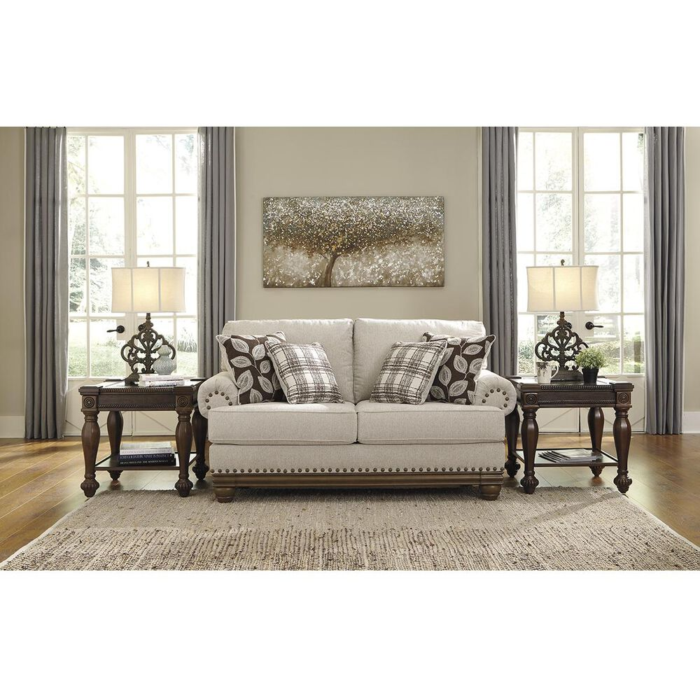 Signature Design by Ashley Harleson Loveseat in Wheat, , large