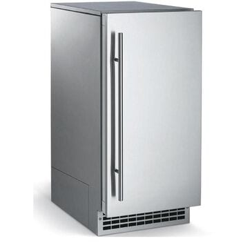 "Scotsman 15"" Brilliance Under-Counter Nugget Ice Maker with 26 lbs Storage Panel Ready , , large"