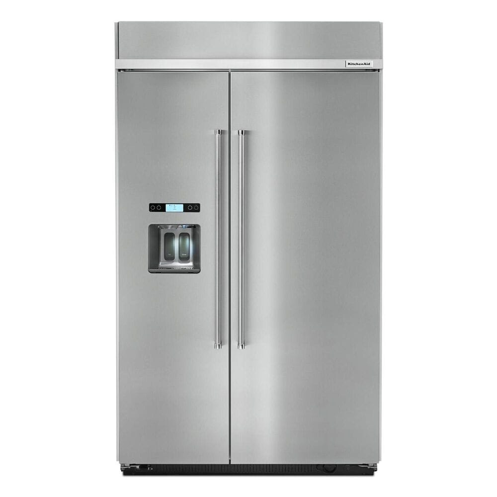 """KitchenAid 48"""" Built-in Side by Side Refrigerator, , large"""
