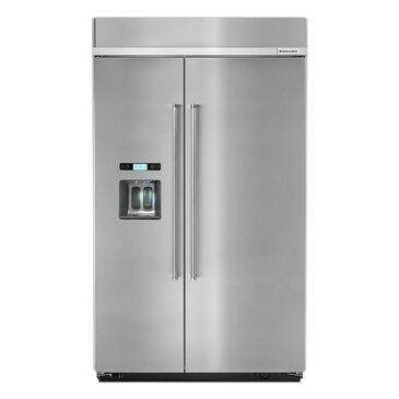 "KitchenAid 48"" Built-in Side by Side Refrigerator, , large"