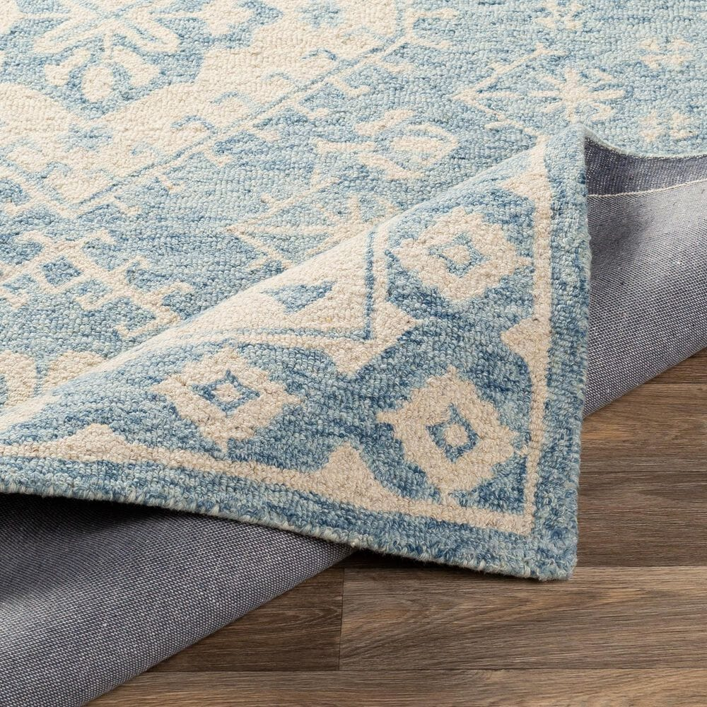 Surya Granada GND-2320 8' x 10' Pale Blue, Beige and Sky Blue Area Rug, , large