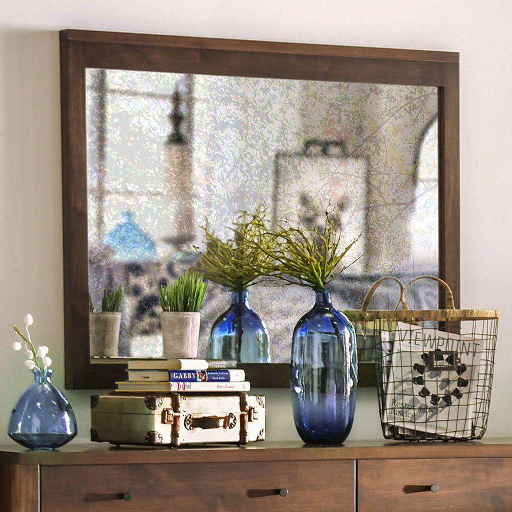 Furniture of America Bowers Mirror in Espresso, , large