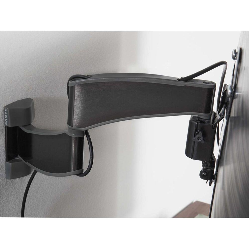 "Sanus Advanced Full-Motion Premium TV Mount for 19"" to 40"" TVs in Brushed Black Stainless, , large"