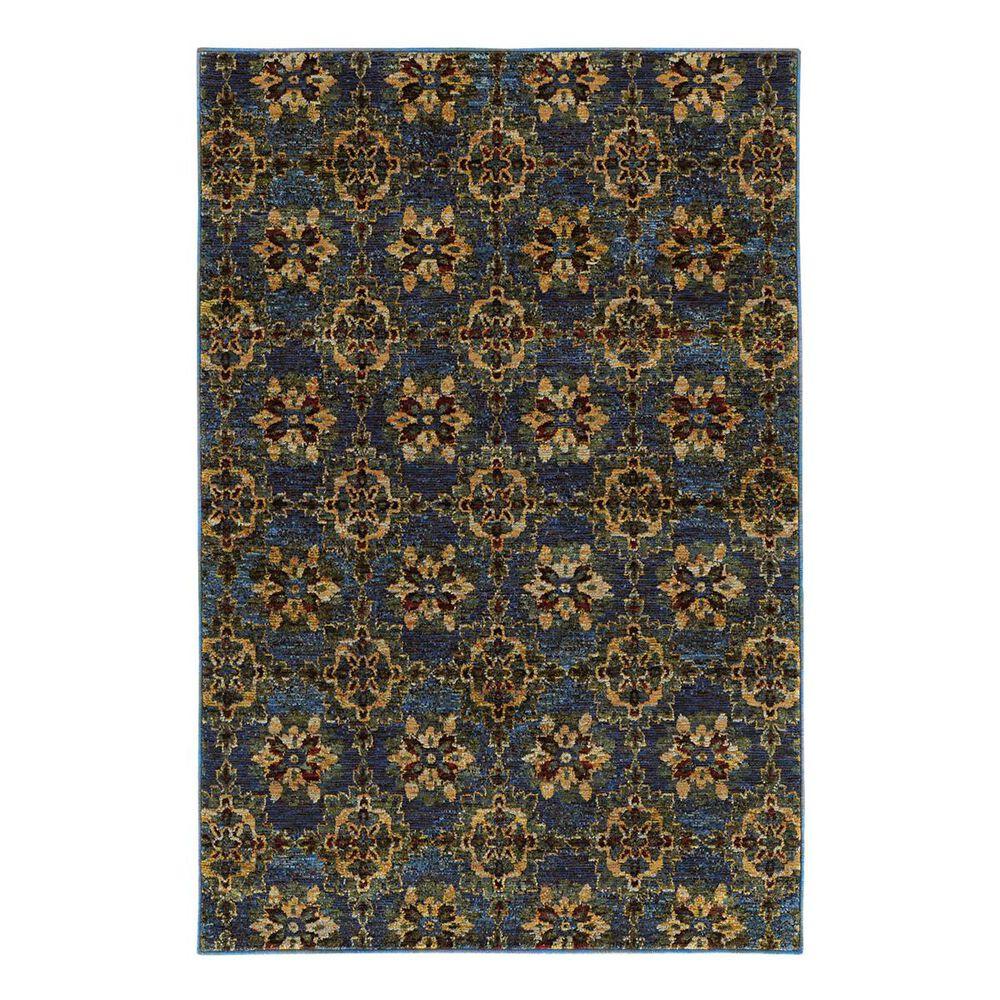 """Oriental Weavers Andorra 6883C 1'10"""" x 3'2"""" Blue Scatter Rug, , large"""